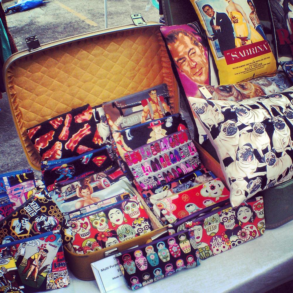 Tatiana's bags - pretty & practical