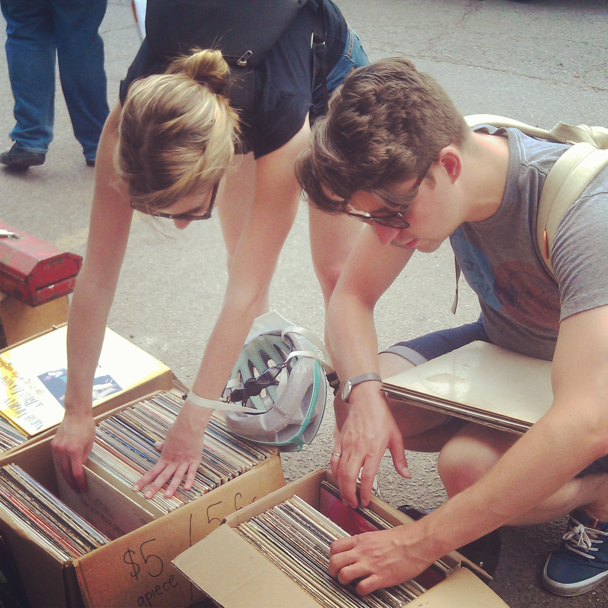 We love records!