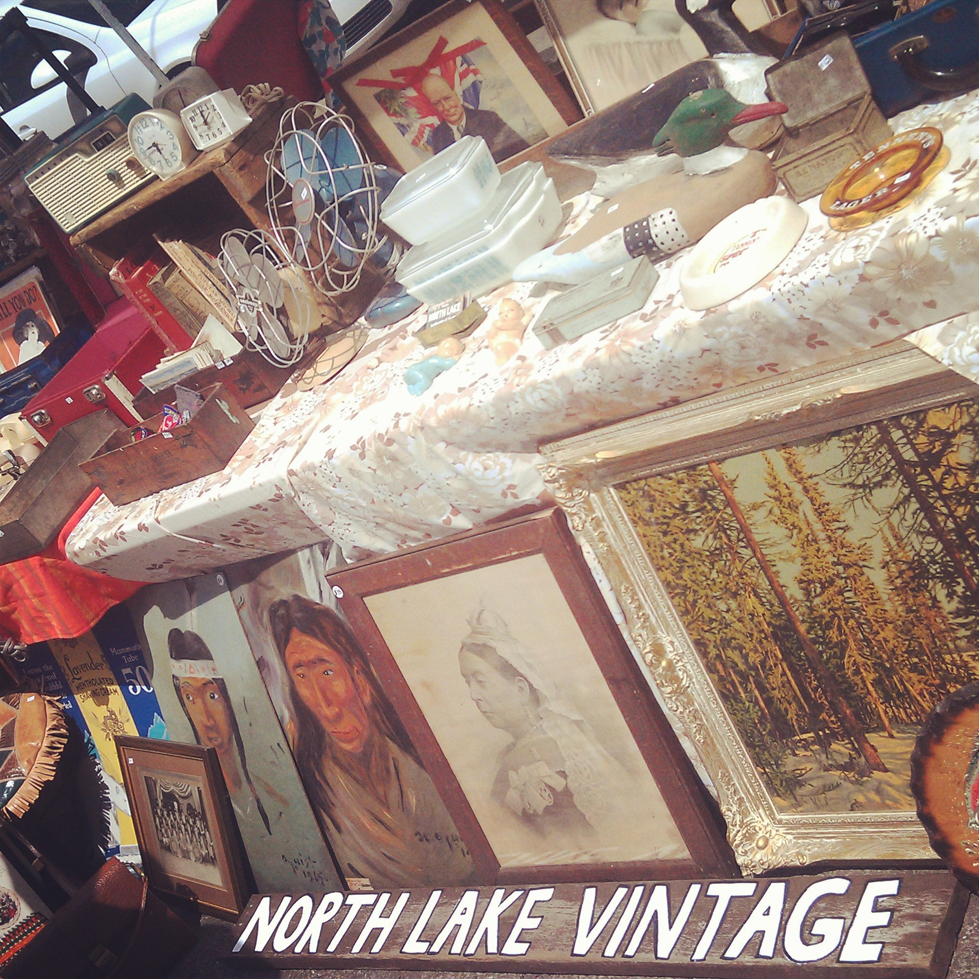 So many treasures from North Lake Vintage