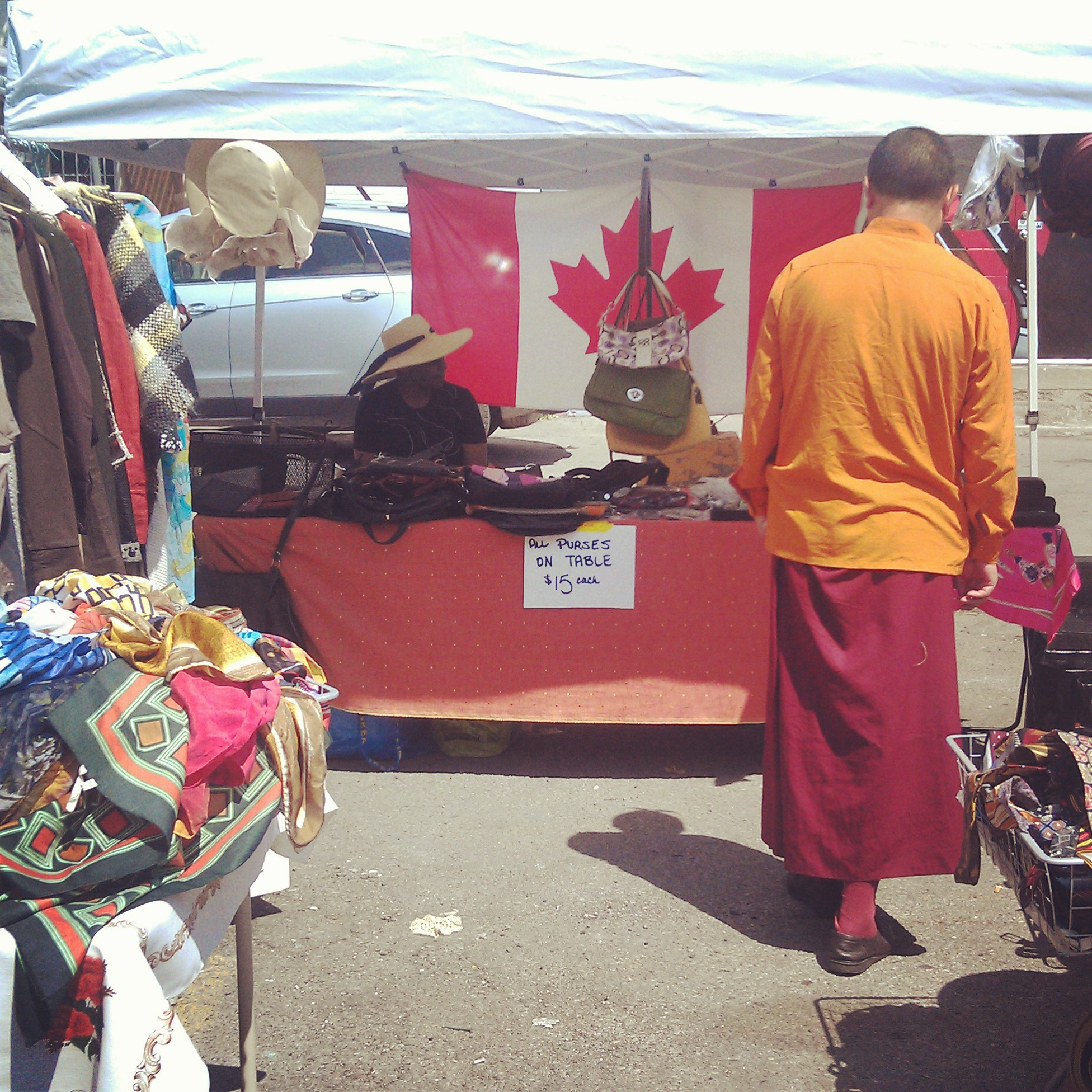 Even monks like the Annex Flea, at Hello! Good Buys!