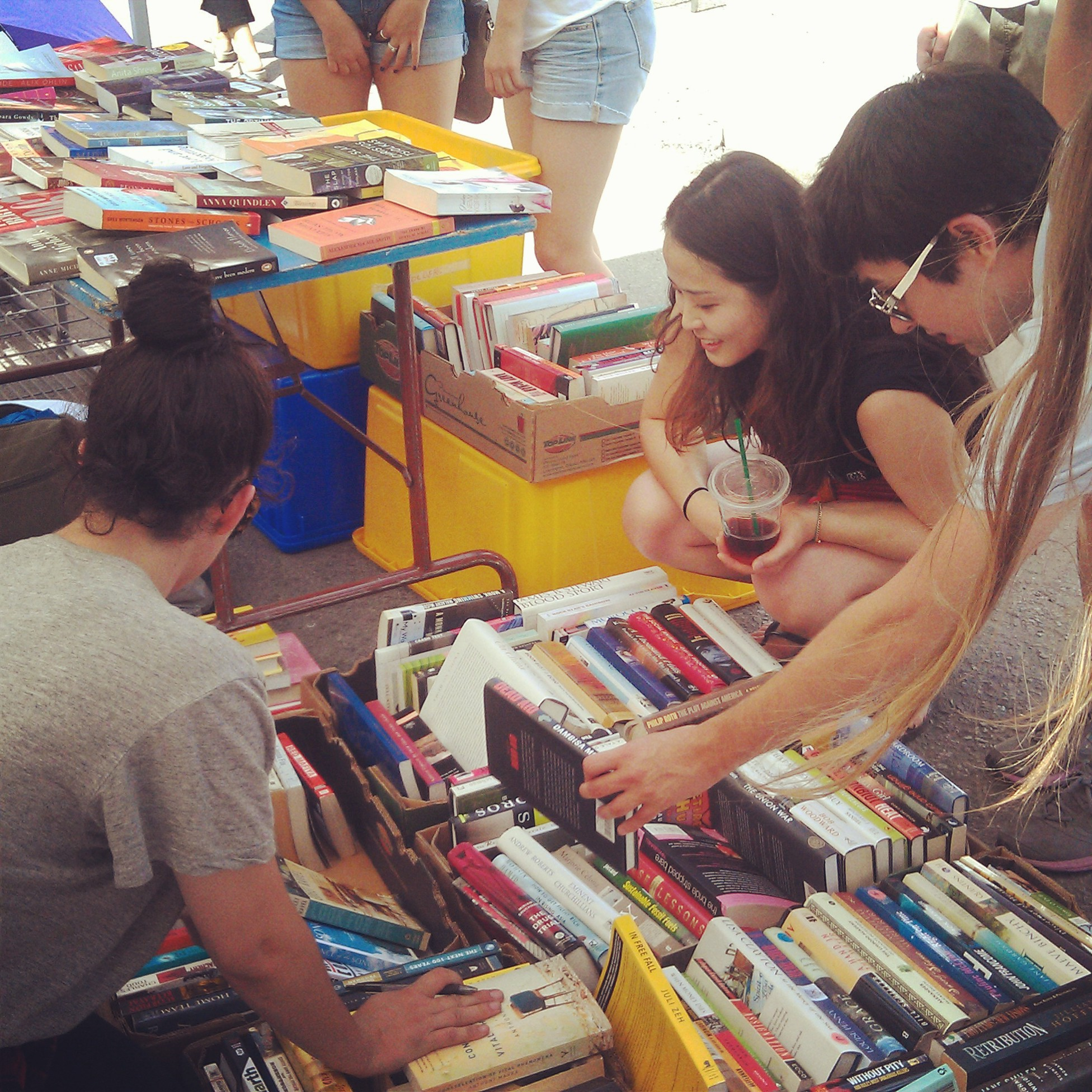 Book sale by CAMH